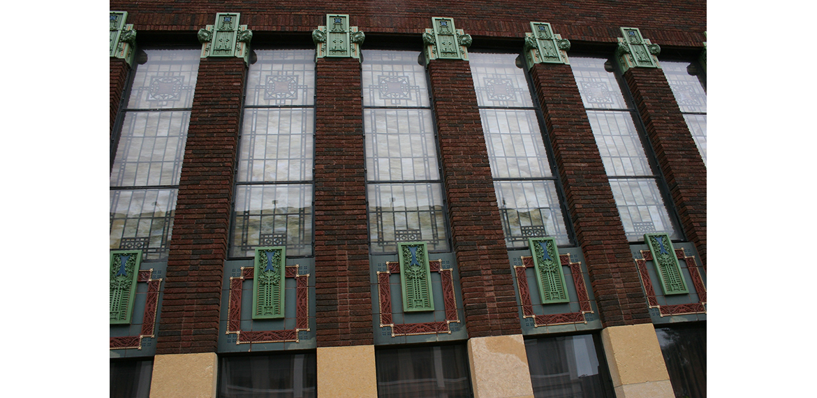 Photo: Historic Ellerbee Building Stained Glass
