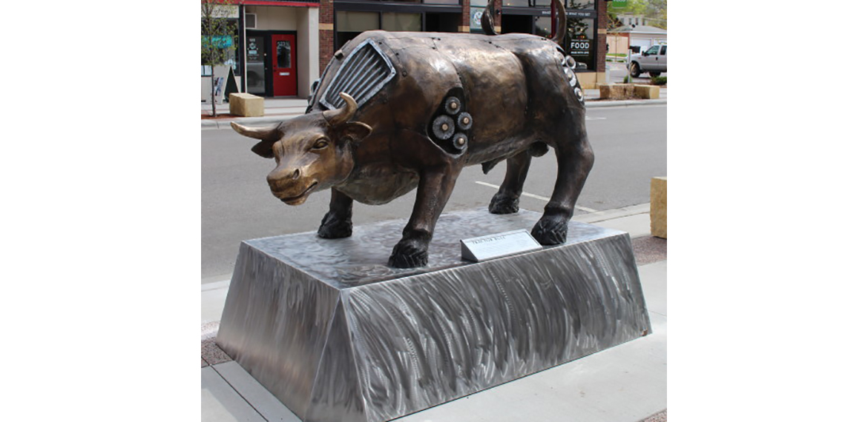 Photo: Tractor Bull
