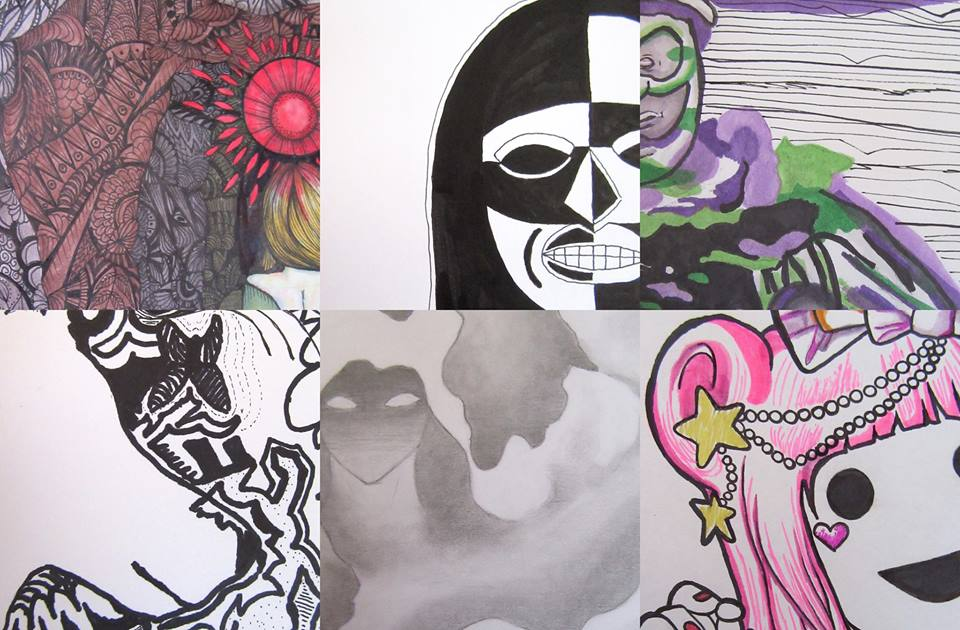 Works on Paper by MSU Art Students
