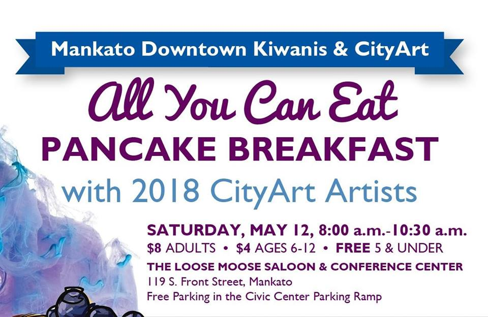 CityArt & Kiwanis Pancake Breakfast
