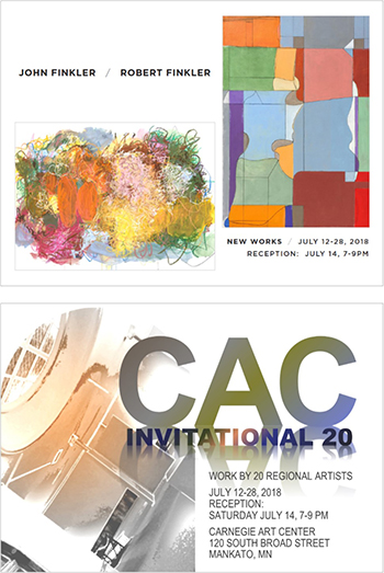 Opening Reception: CAC Invitational and Finkler New Work